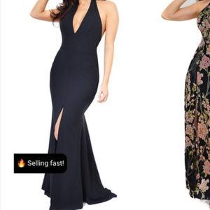 Emprada Black Gown